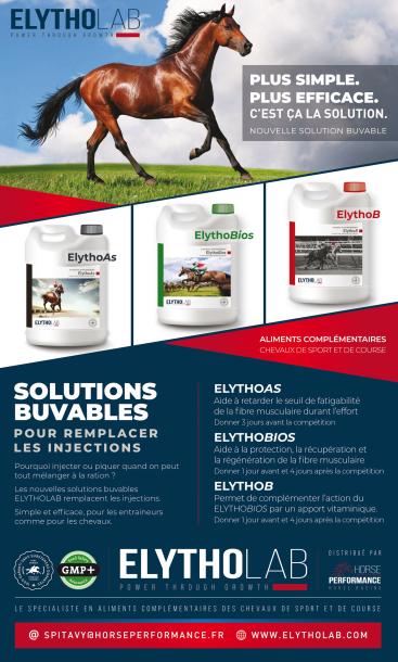 ELYTHOLAB distribué par Horse Performance